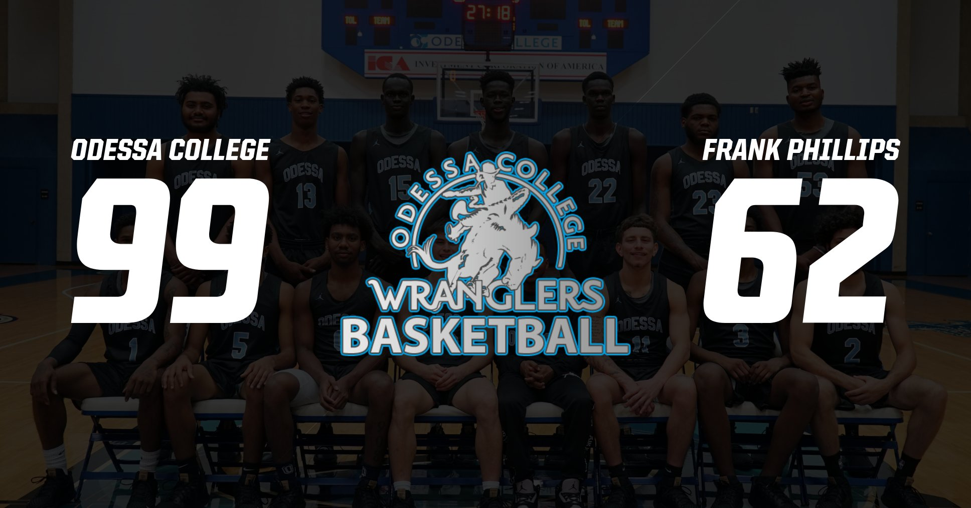 Men's Basketball Defeats Frank Phillips In Conference Opener