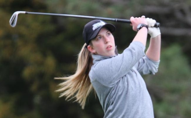 Holly Reynolds won the Keuka College Spring Invitational on Wednesday by 9 strokes