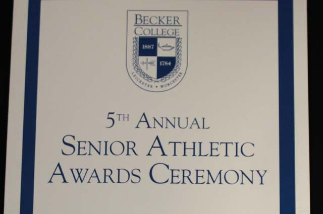 Becker College Holds 5th Annual Senior Athletic Awards Ceremony