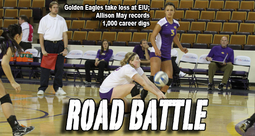 Tech volleyball takes on Eastern Illinois on the road
