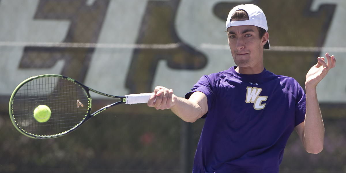 Men's Tennis Blanked by No. 16 Mary Washington