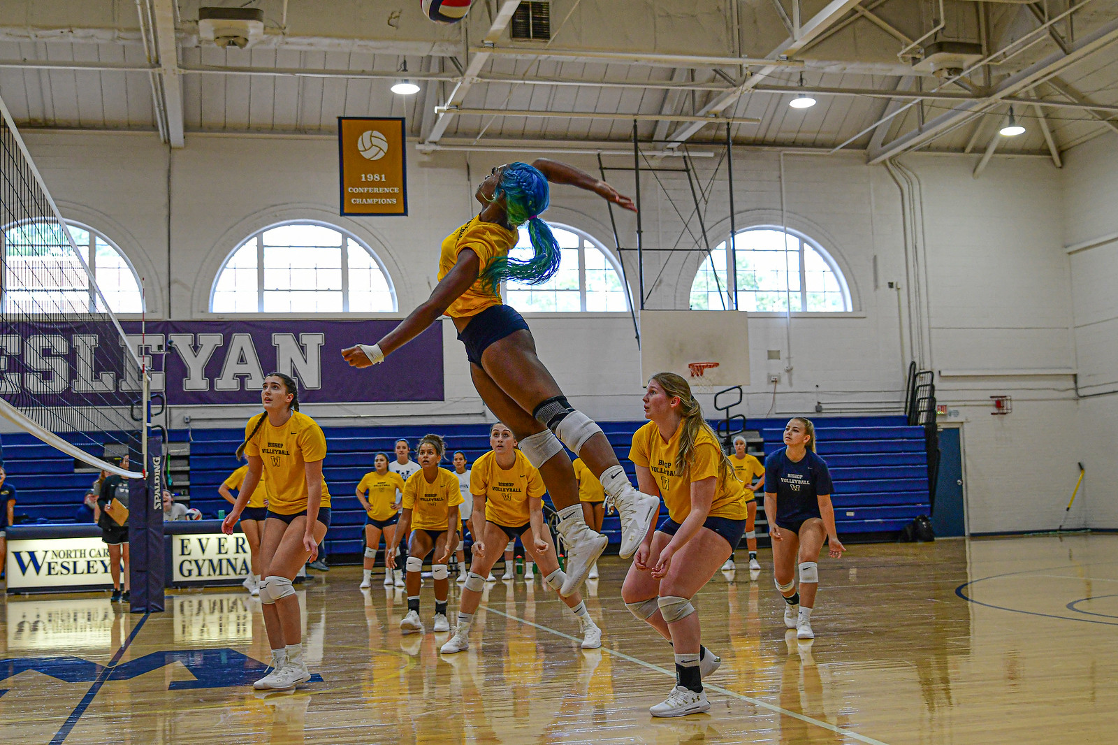 Volleyball Drops Tournament Opener to Hollins