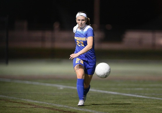 Strong First Half Lifts Women's Soccer Past Suffolk, 3-0