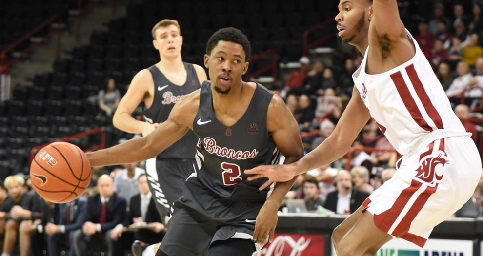 Men's Basketball Wins Fifth Straight, Downs Washington State on the Road