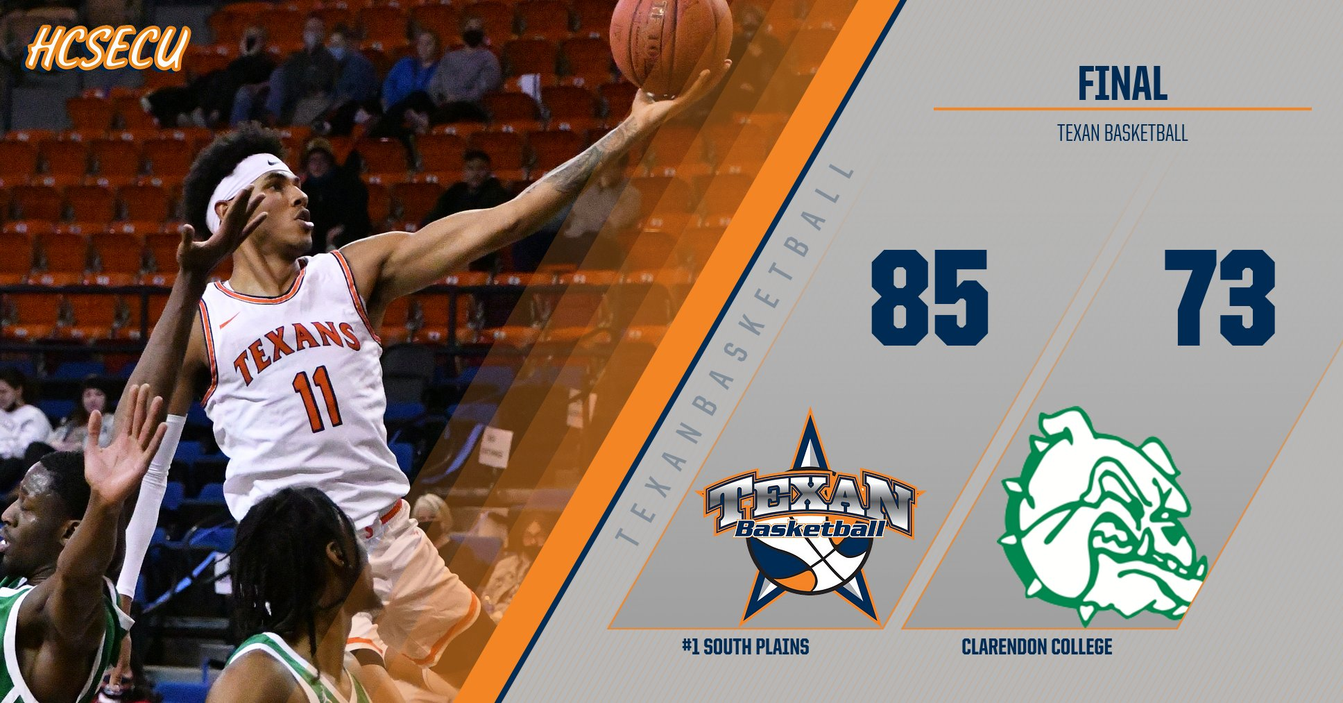 No. 1 Texans clip Clarendon 85-73