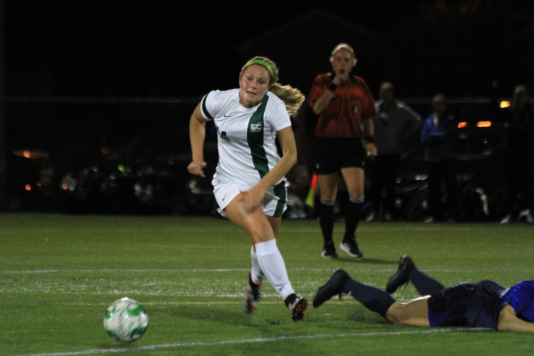 Goodwin Strikes Twice As Blazers Top Nighthawks