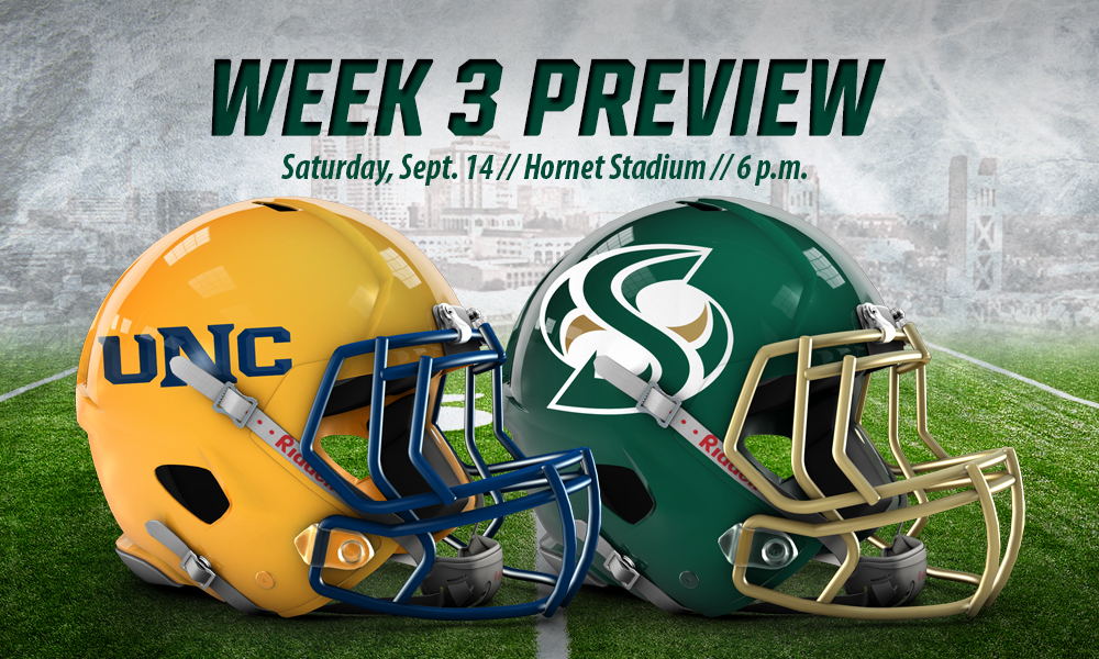FOOTBALL RETURNS HOME TO FACE NORTHERN COLORADO ON SATURDAY