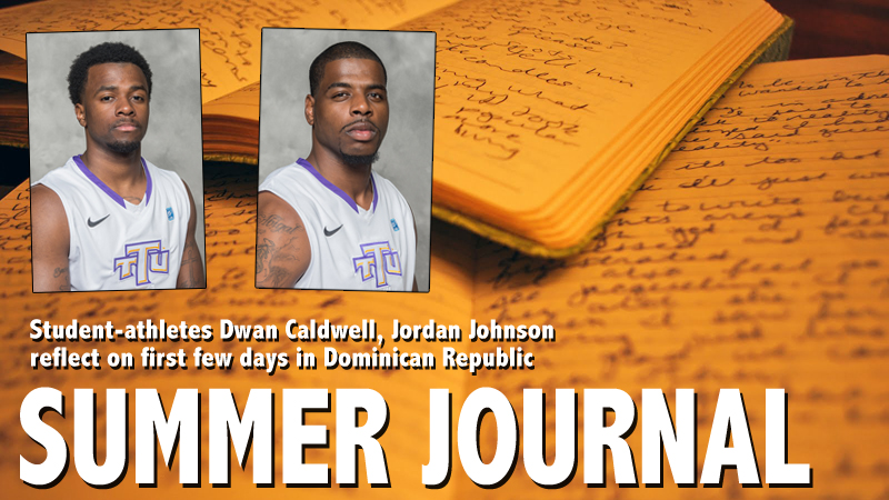 SUMMER JOURNAL: Caldwell, Johnson reflect on first few days in Dominican Republic
