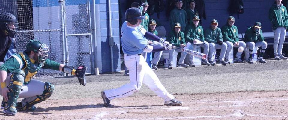Baseball Rallies to Beat Eastern in Final At Bat