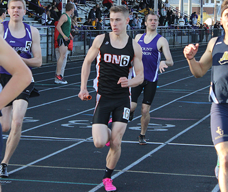 Molinaro wins Distance Runner of the Year to lead Men's Track and Field at the OAC Outdoor Championships
