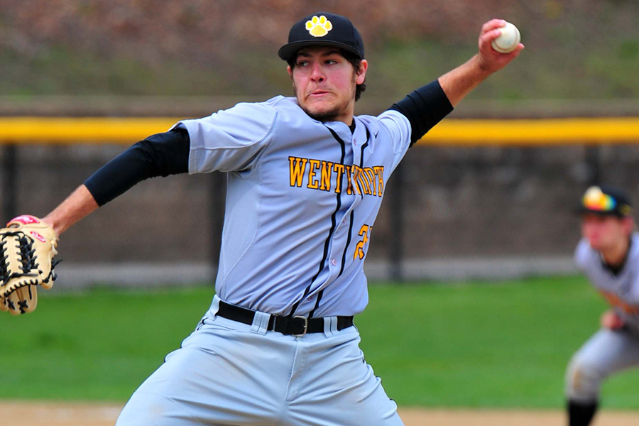 Baseball Splits With Western New England