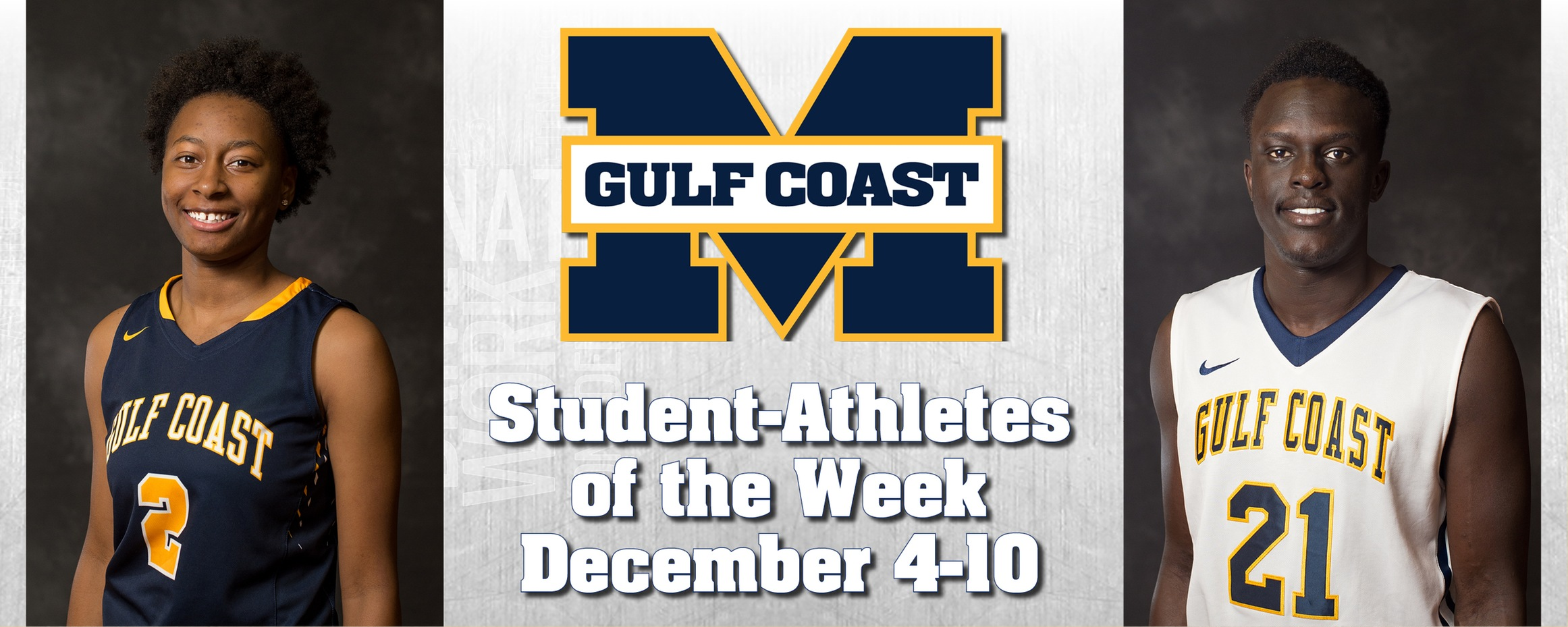 McCullah, Chan named MGCCC Student-Athletes of the Week