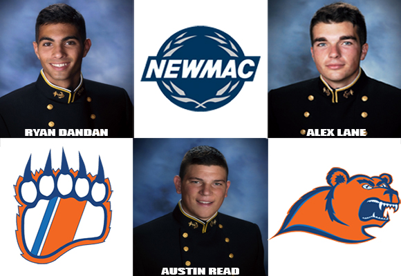 Men's Soccer Place Three on All-NEWMAC Team
