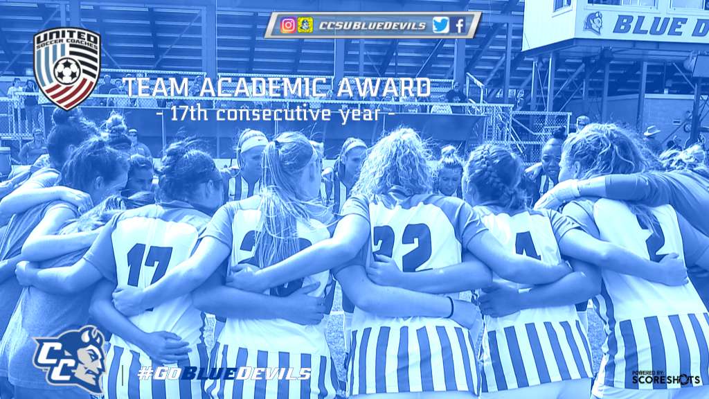 Women's Soccer Earns United Soccer Coaches Team Academic Award