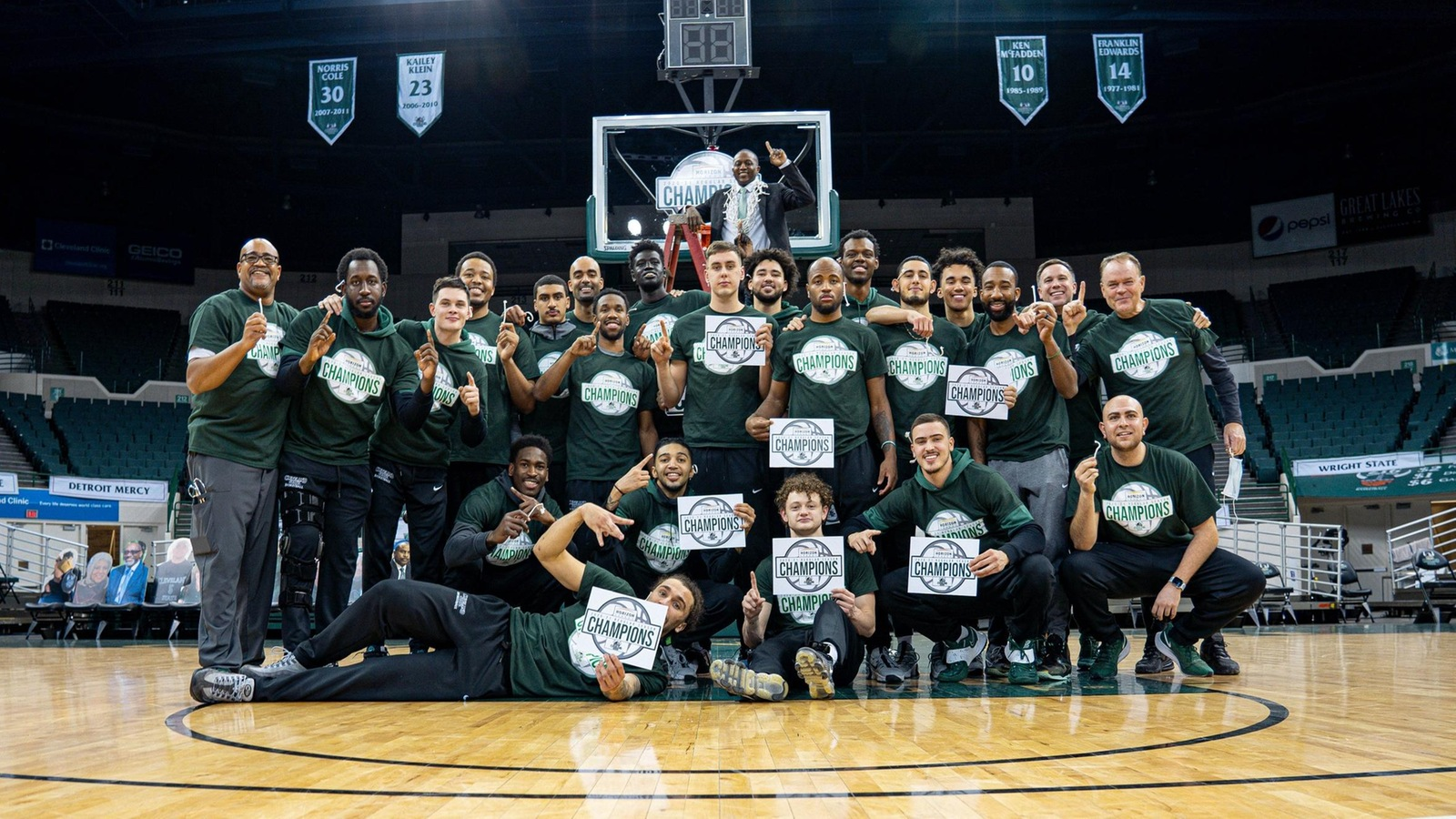 Cleveland State Snags No. 1 Seed in 2021 #HLMBB Tournament