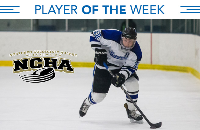 NCHA Honors Klein as Offensive Player of the Week