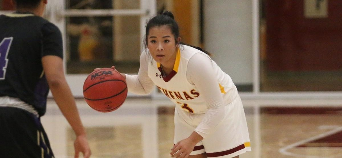 Katelynn Nguyen had a career-high 22 points at Cal Lutheran (photo by Kiubon Kokko)