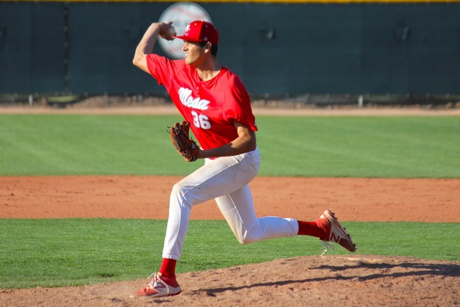 Carter Robinson Throws Complete Game, T-Bird Offense Explodes for 11-2 Game One Victory Thursday Afternoon