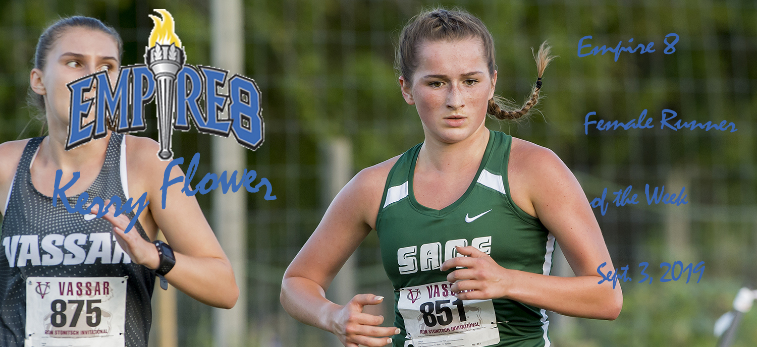 Flower honored as Empire 8 Female Runner of the Week