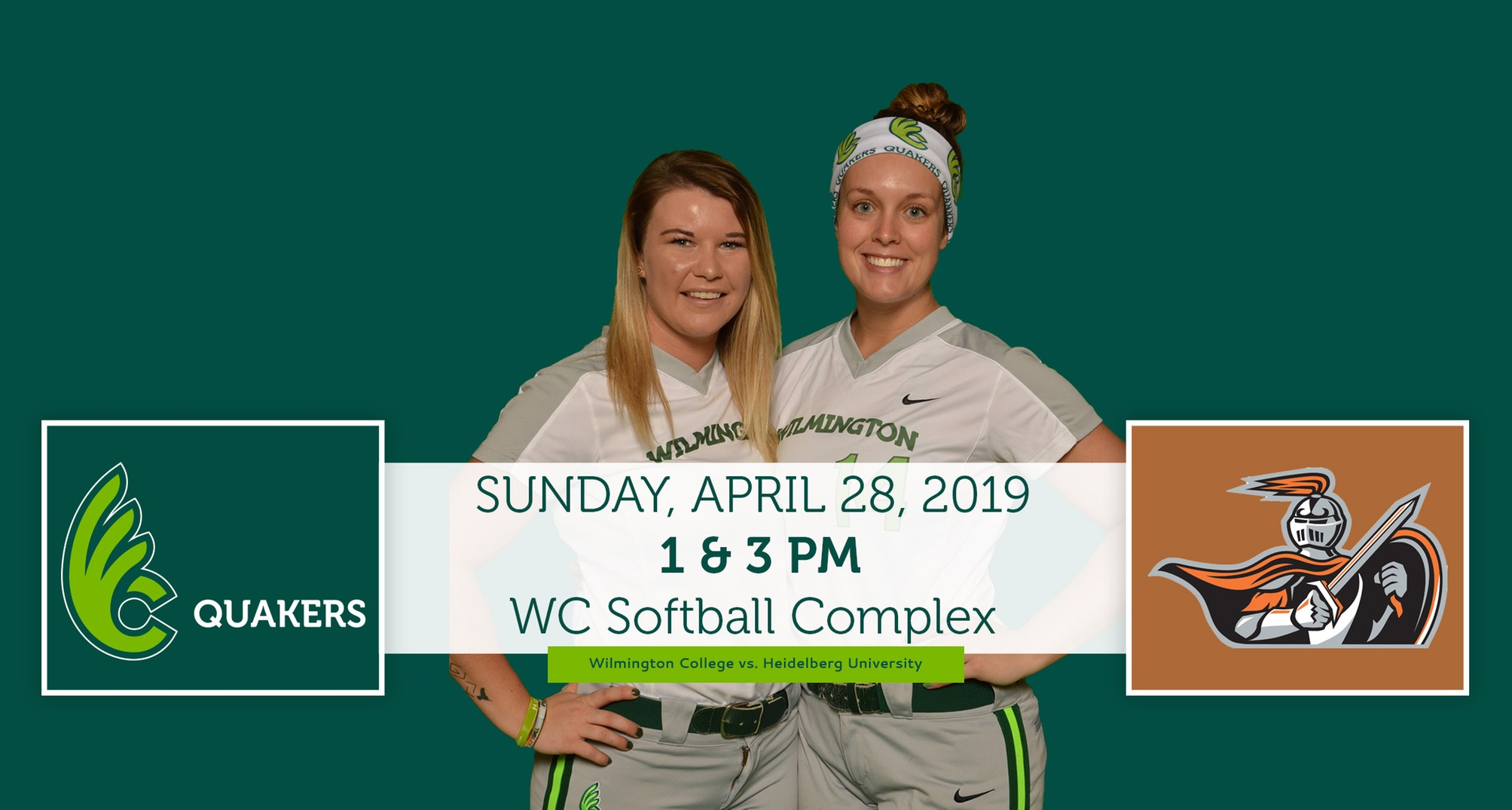 Softball Hosts Heidelberg for Senior Day Saturday