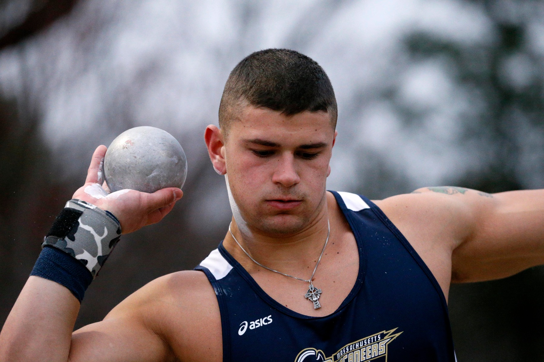 McCabe Wins Shot Put Event at MASCAC / New England Alliance Championships; Maritime Finished Men and Women Finish Last In Standings Among MASCAC Representatives