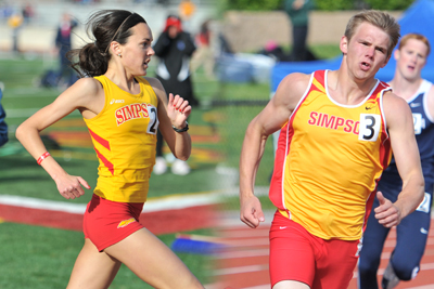Simpson athletes compete in national qualifiers
