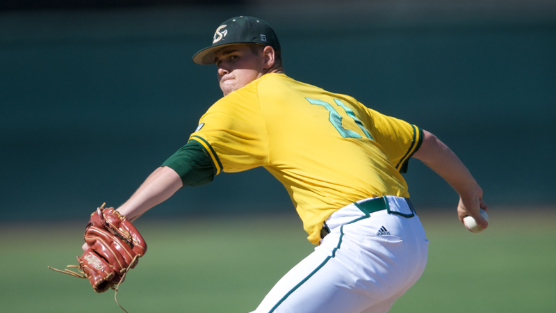 LEITAO LEADS BASEBALL TO 5-0 SHUTOUT OF UTAH VALLEY