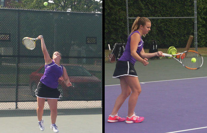 Women's tennis opens road weekend with loss at regionally-ranked Merrimack