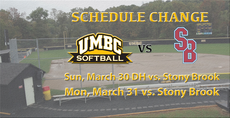 Softball Hosts Stony Brook in America East Opener
