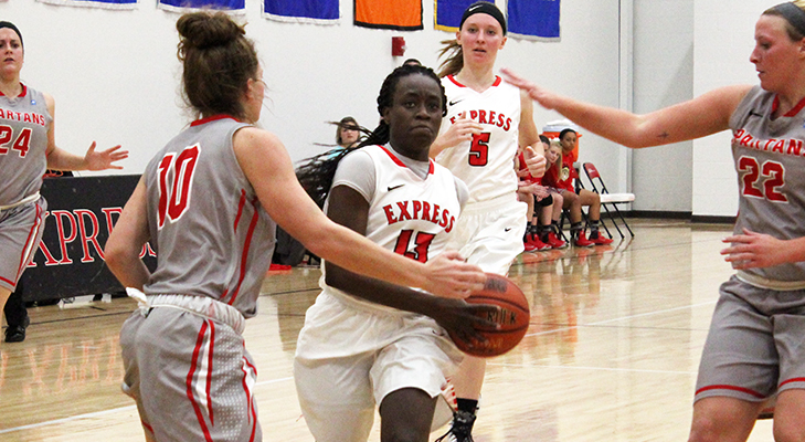 Cooper's Big Day Lifts Women's Basketball vs. D'Youville