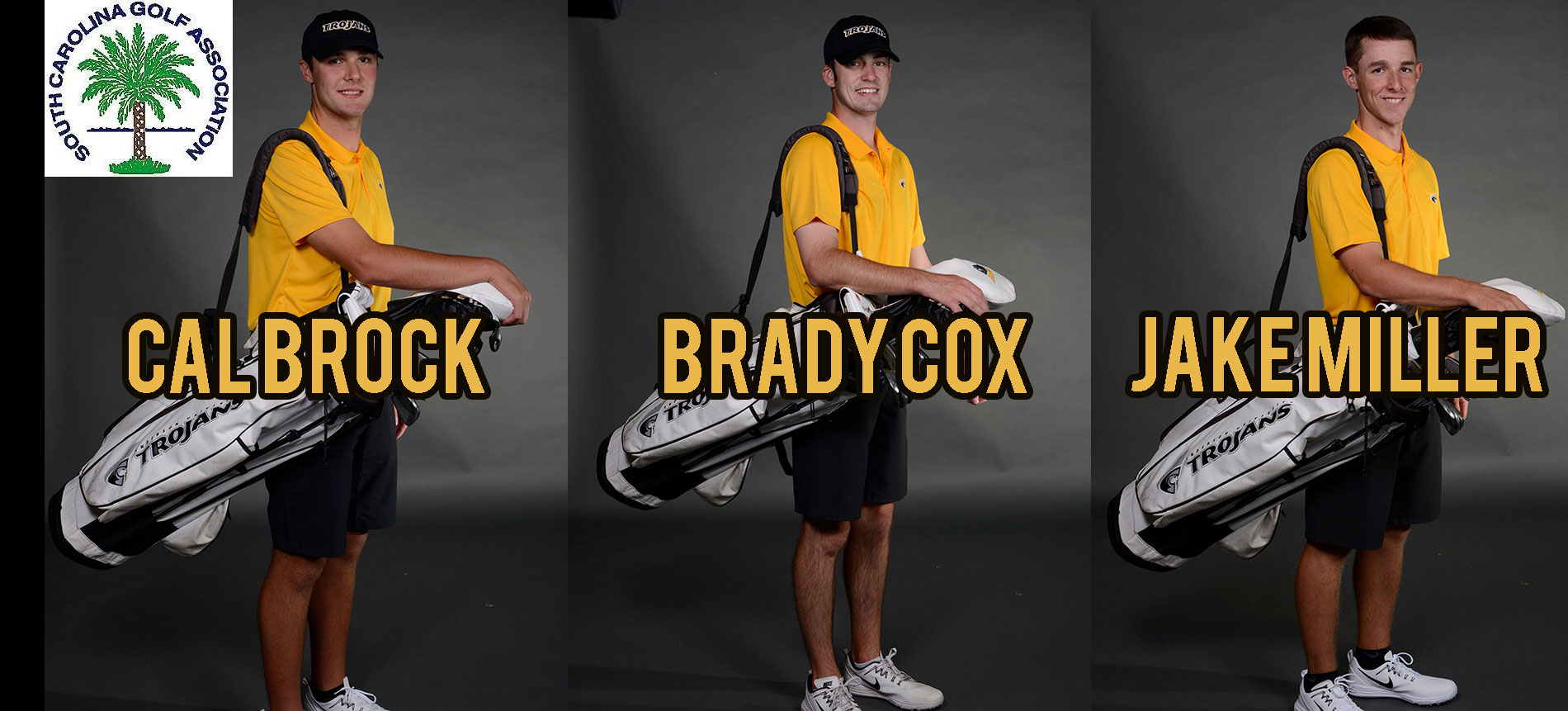 Three Trojans Qualify for South Carolina Golf Association Amateur Championship