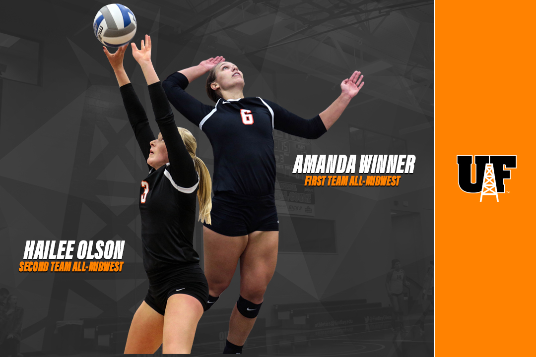 Winner/Olson Earn All-Region Honors from D2CCA