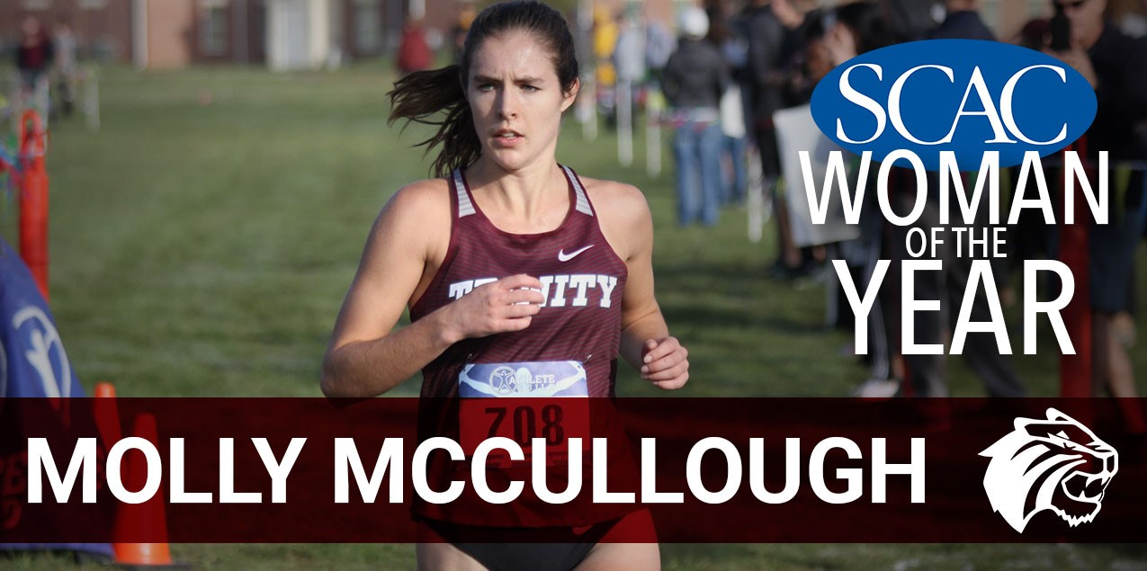 Trinity's McCullough Selected SCAC Woman of the Year