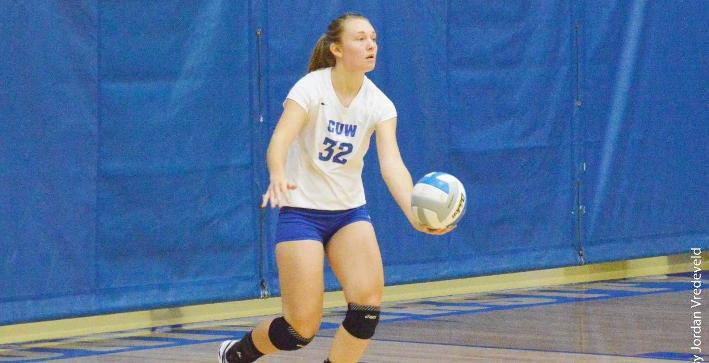 Griffiths named NACC Volleyball Student-Athlete of the Week