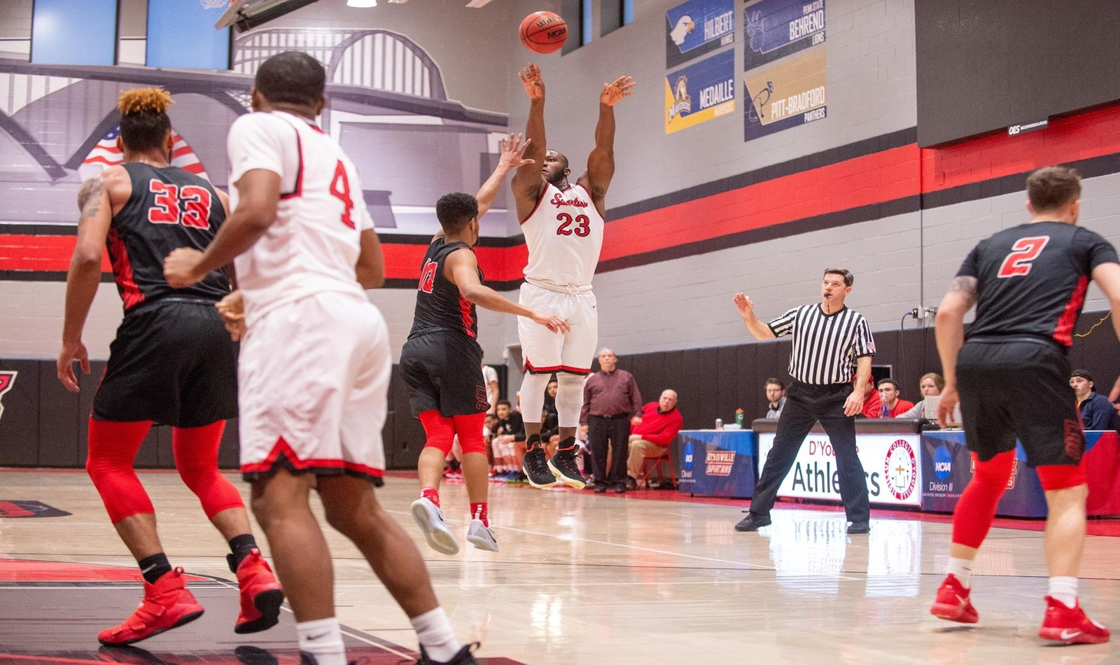 Strong Shooting Leads D'Youville Past Bradford