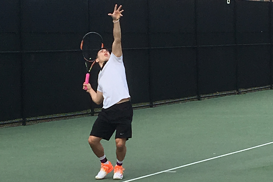 Men's Tennis Falls to Bridgewater State