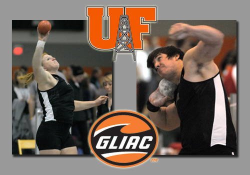 Vicars, Rowland Earn Weekly Honors from GLIAC