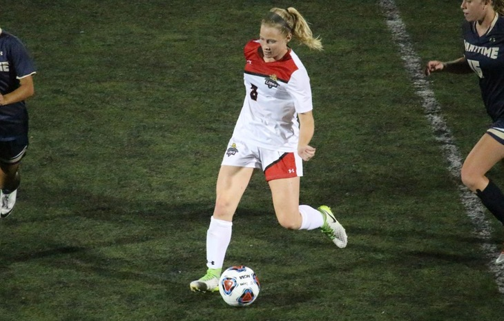 Women's Soccer Dealt 2-1 Loss at Curry