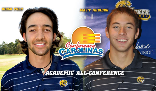 Polo and Kreider Earn Academic Honors