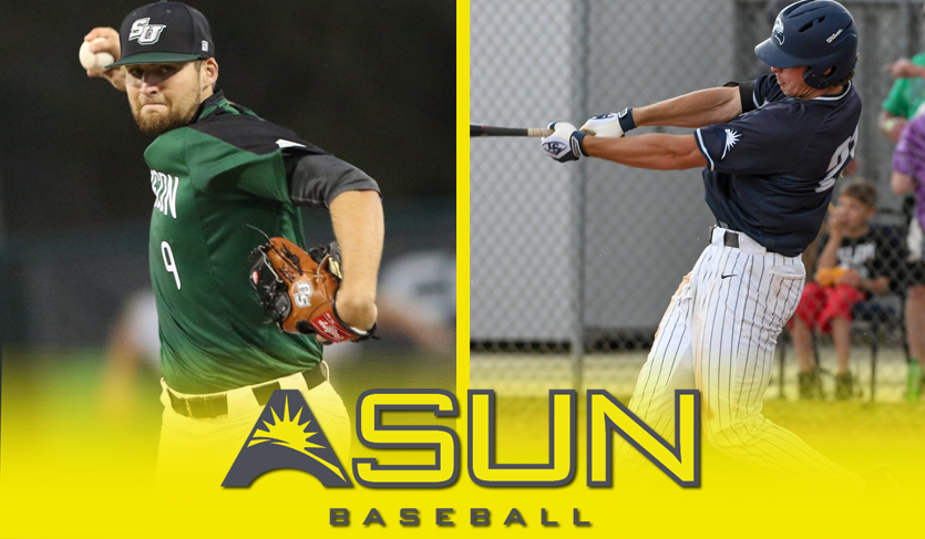 UNF's Berry & Stetson's Perkins Nab @ASUNBSB Honors