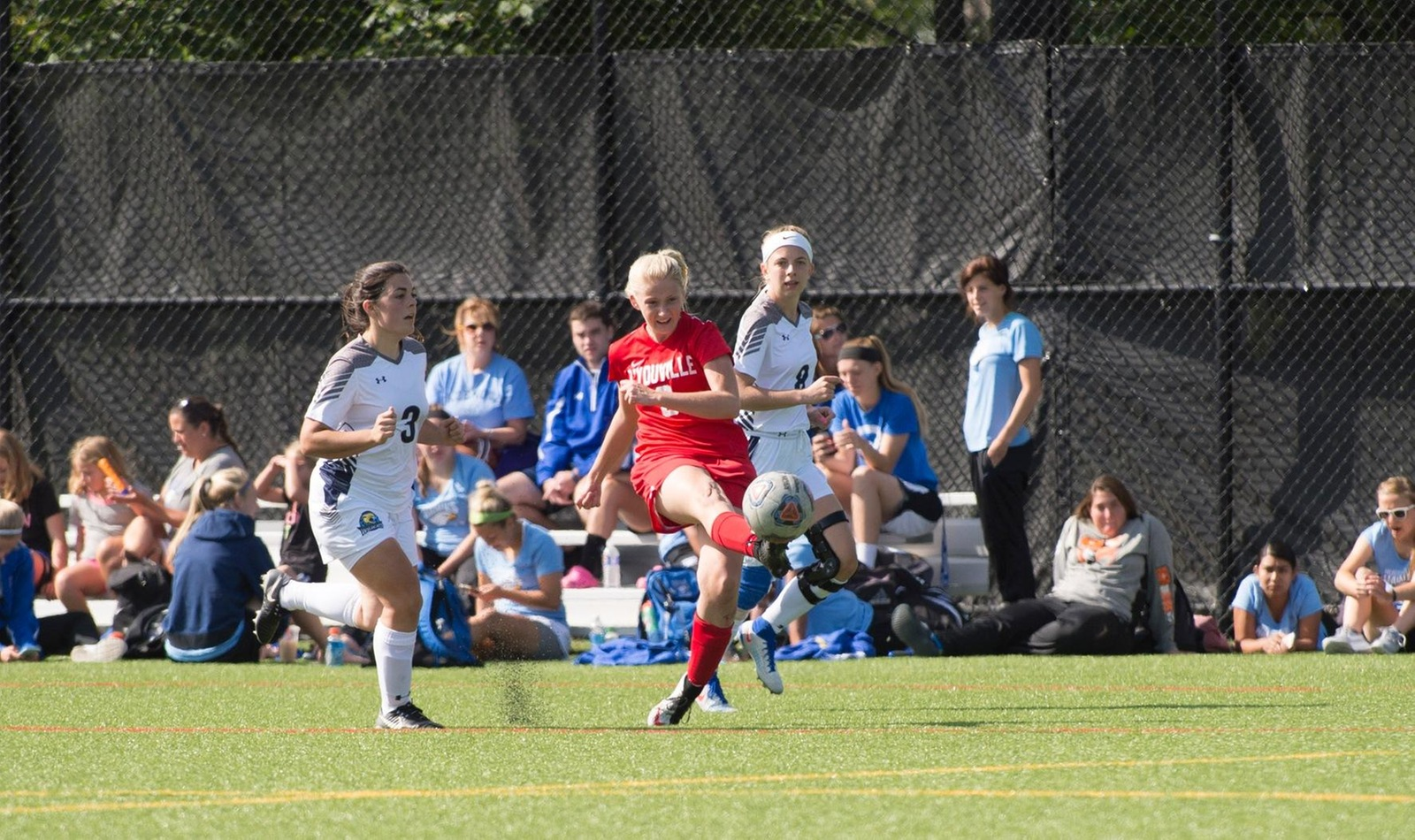 Magan Magee (pictured) scored the lone goal in the Spartans 1-0 victory over Penn State-Altoona