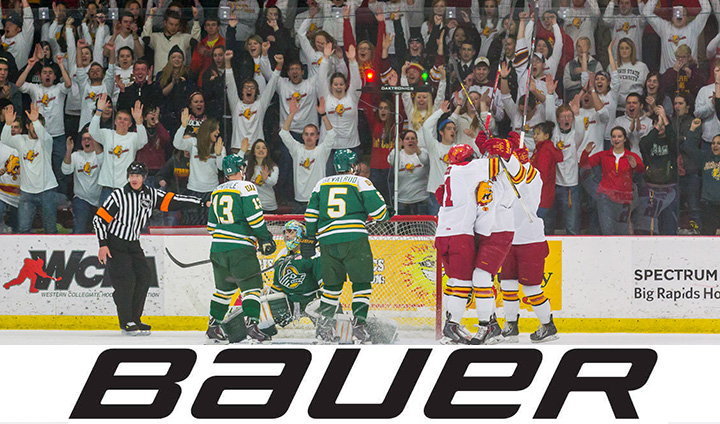 Ferris State Hockey Signs Multi-Year Equipment Agreement With Bauer Hockey