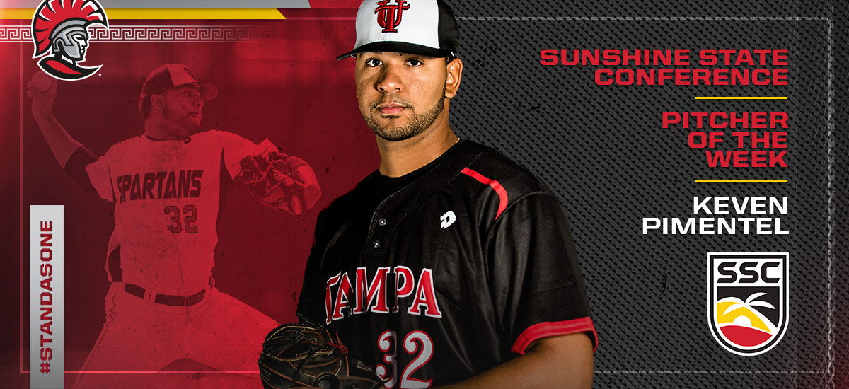 Keven Pimentel Earns SSC Pitcher of Week Honors