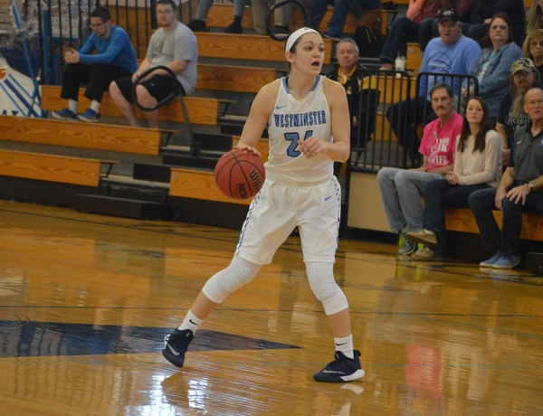 Westminster Women's Basketball Drops SLIAC Battle to Fontbonne