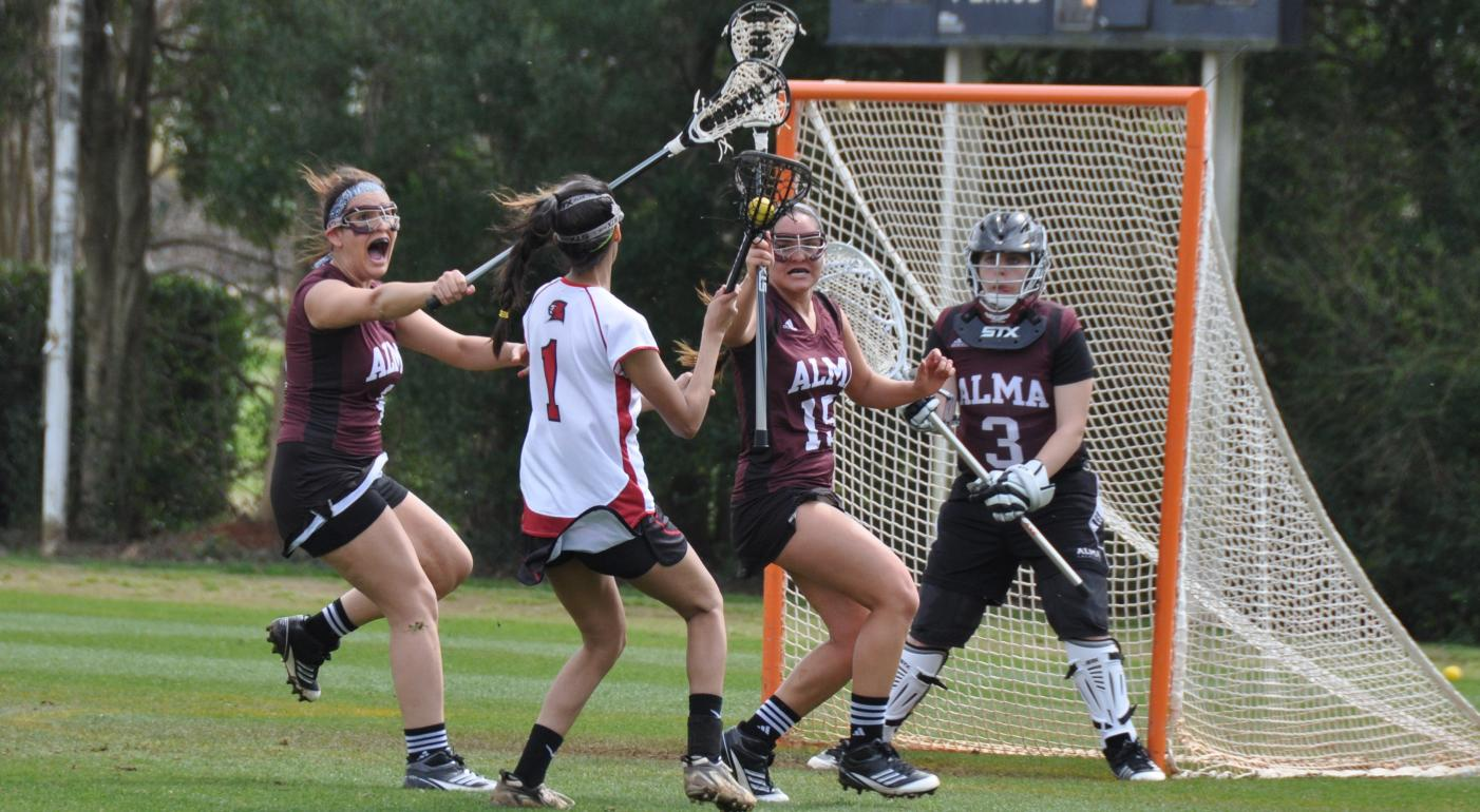 Women's LAX defeats Calvin College 12-3 on Tuesday night