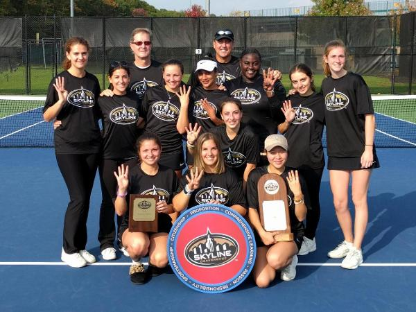 Women's Tennis Wins Fourth Straight Skyline Championship