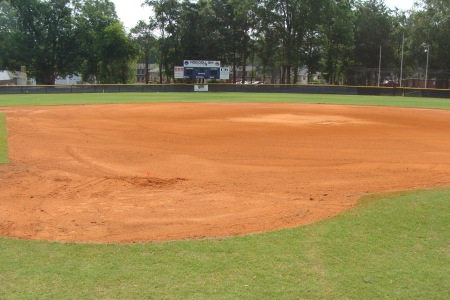 Softball field getting facelift
