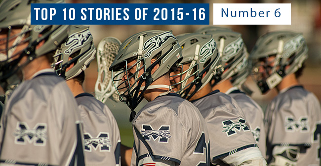 Top 10 Stories of 2015-16 - #6 Men's Lacrosse Wins 10 Matches & Plays in ECAC Tournament