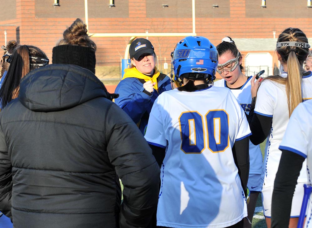 Worcester State Women's Lacrosse Opens at Home with 9-7 Win over Curry