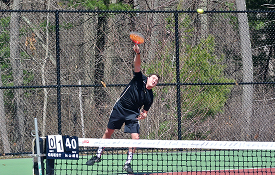 Men's Tennis Drops Spring Opener